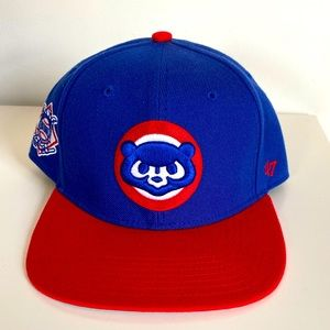 Chicago Cubs 47' brand snapback - used